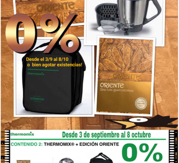 EDICIÓN ORIENTE 0% INTERESES
