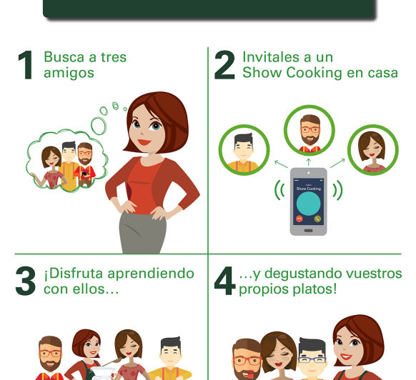 Solicita tu Showcooking
