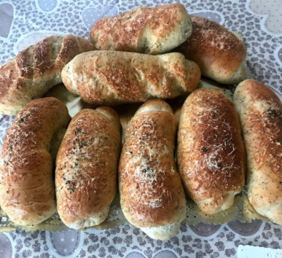Pan de orégano y queso partisano estilo Subway
