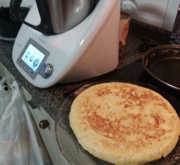 Tortilla de patatas en Thermomix®