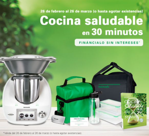 Thermomix® FINANCIADA 0% INTERES