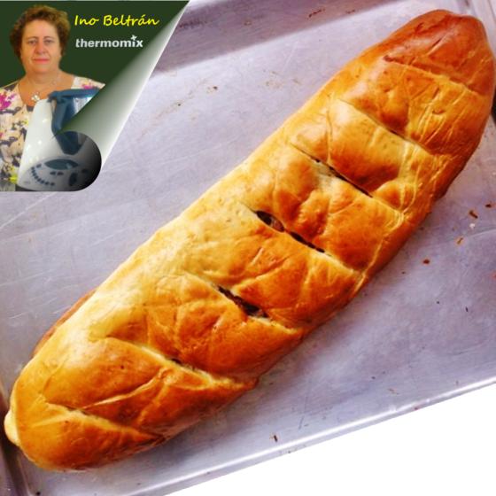 Receta: Pan de jamón