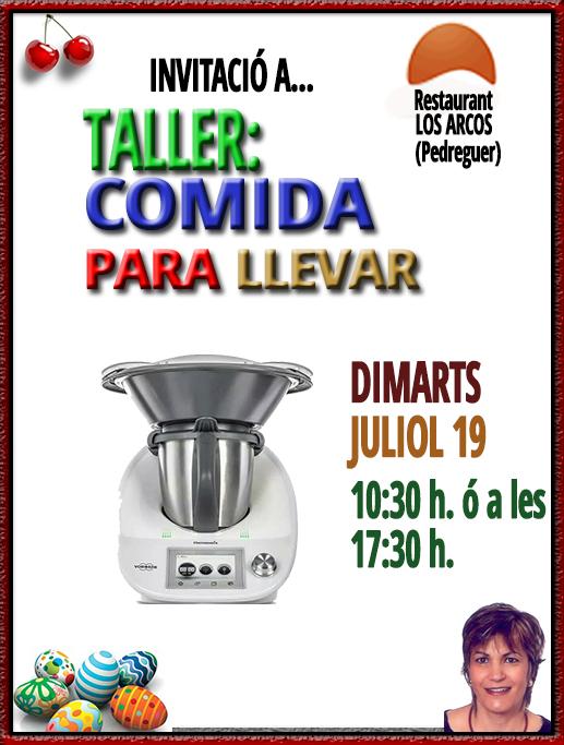 TALLER DE COCINA :