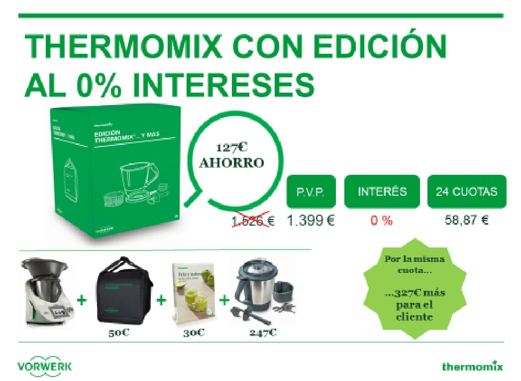 Thermomix® 0 % intereses