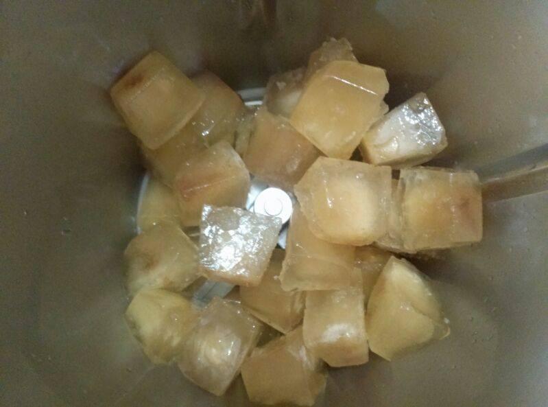 Granizado de limón con estevia