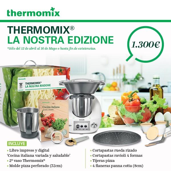 La Nostra Edizione, la nueva edición de Thermomix® , ¡ya disponoble!