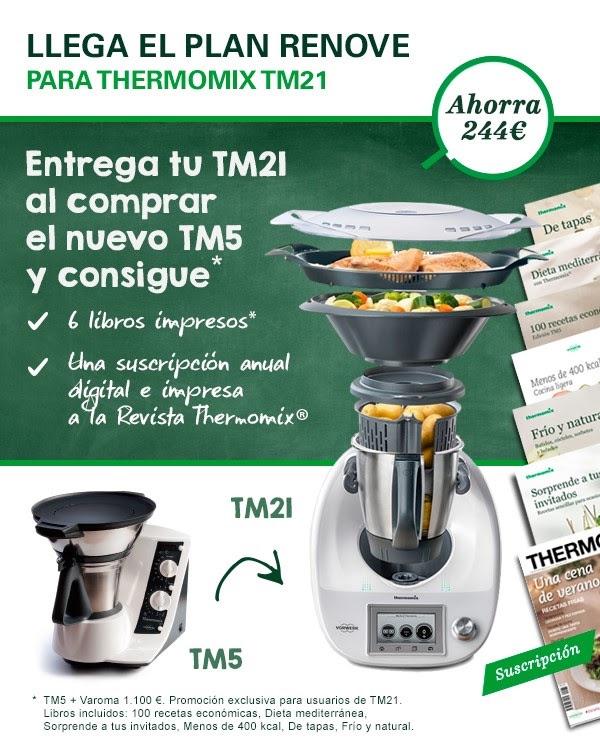 Plan renove para Thermomix® TM21