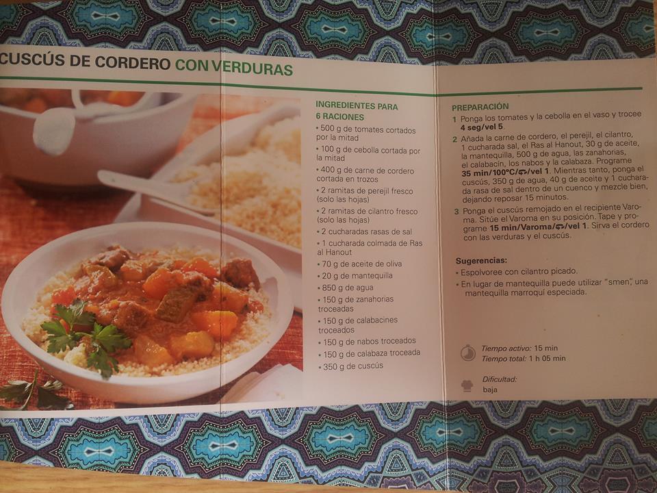 receta cuscus