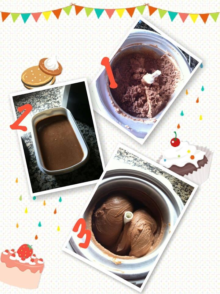 Recuperar un helado cortado, nata cortada...