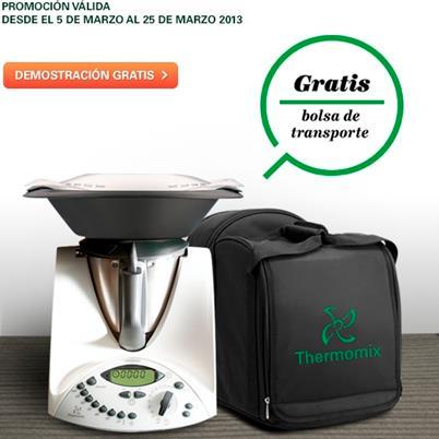 Consigue la bolsa de transporte al comprar tu Thermomix® del 5 al 25 de marzo