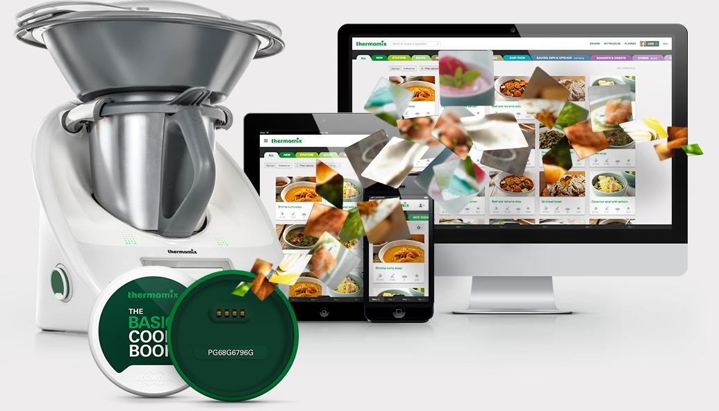 Registrate y disfruta de la nueva plataforma oficial de recetas de Thermomix®