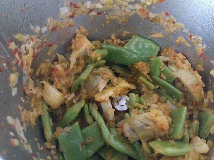 Arroz con verduras, o...como diríamos en casa...arròs i bancal