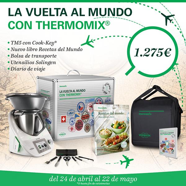VUELTA AL MUNDO CON Thermomix®