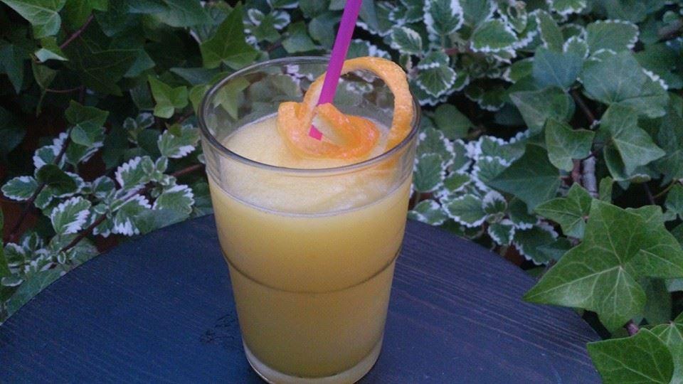 Granizado de naranja