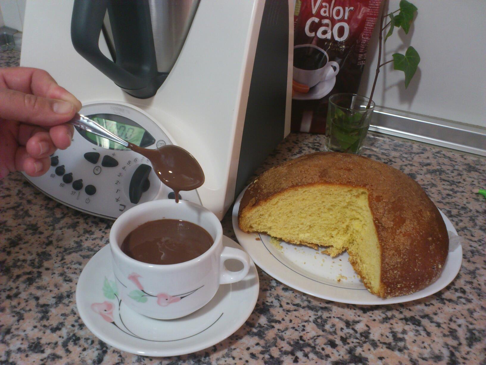 Chocolate a la taza fácil, rápido y buenísimo