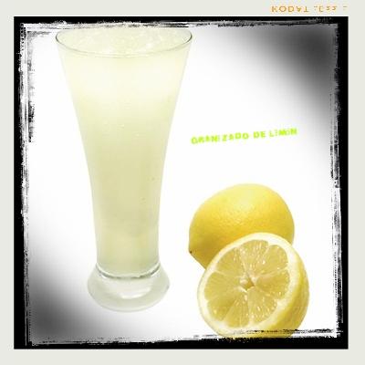 Granizado de Limón rápido