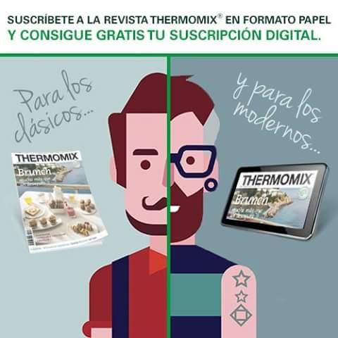¡Suscribirte a Thermomix® magazine tiene premio!