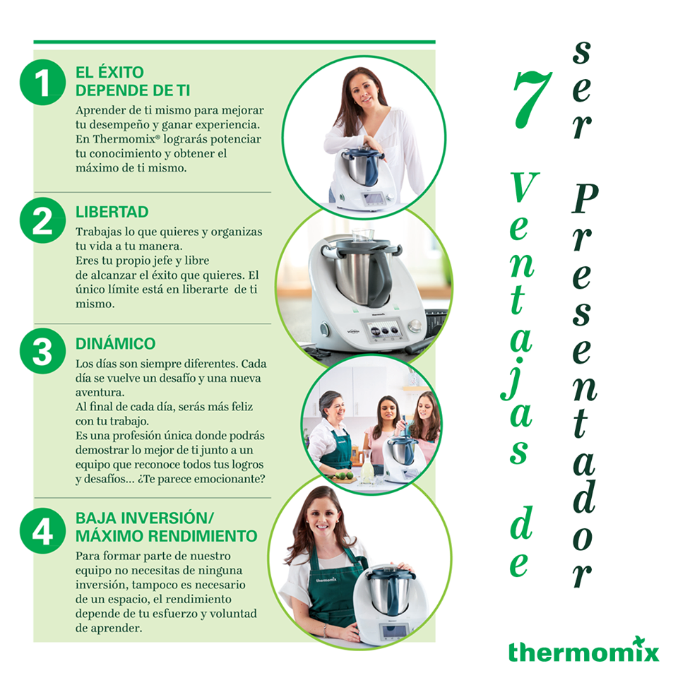 Ventajas de Thermomix®