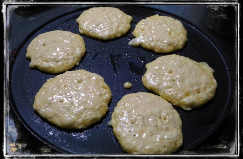Tortitas saladas de calabaza