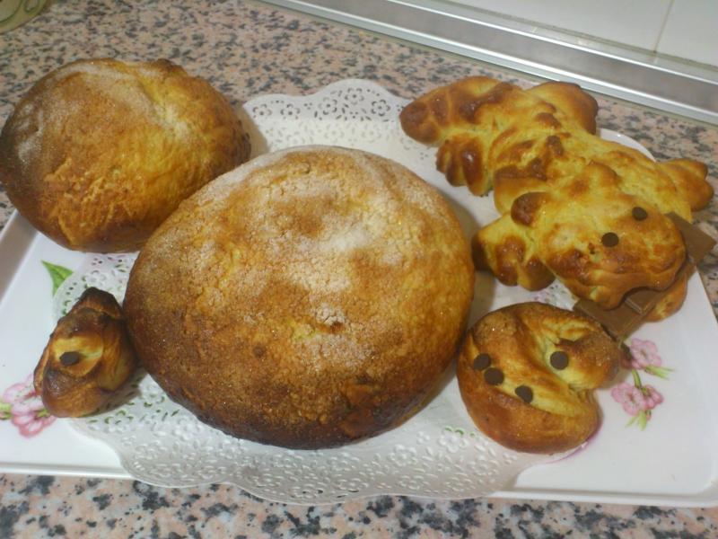 Monas de patata (Fogasetas, toñas, panquemados) sin lactosa