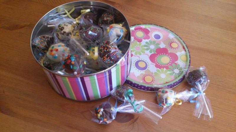 Bizcochups, cake pops o como quieras llamarlos