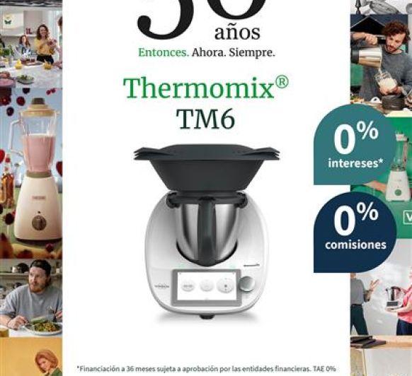 Thermomix® Y SUS 50 ANIVERSARIO AL 0% SIN INTERES