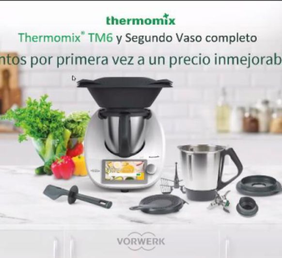 Thermomix® 6 0% INTERESES Y 2º VASO