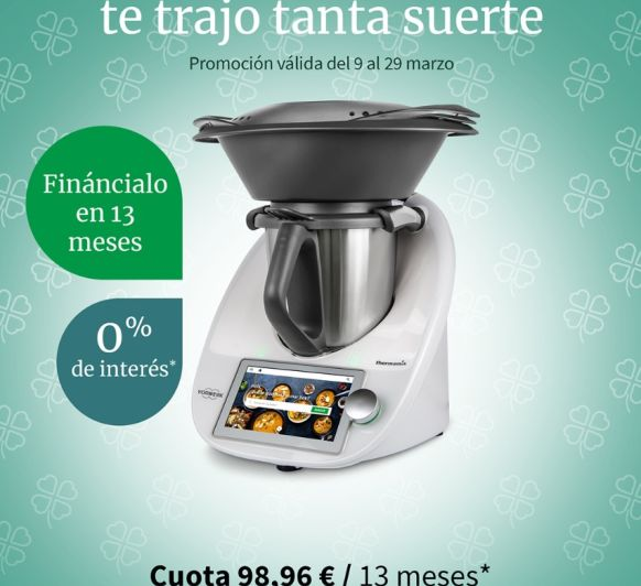 EL Thermomix® AL 0% DE INTERESES!!!