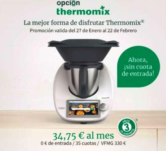 DISFRUTA DE Thermomix® CON 1.12€ AL DÍA