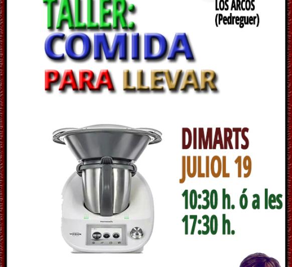 TALLER DE COCINA : ''COMIDA PARA LLEVAR''