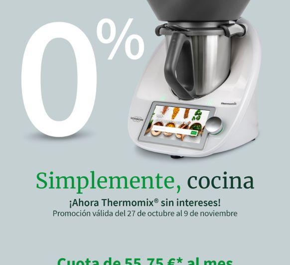 Thermomix® tm6 0% de intereses