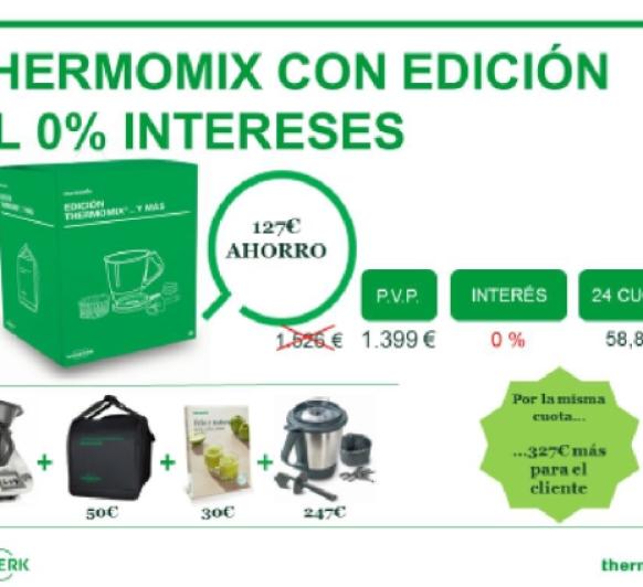 Thermomix® ¡¡0% de interés!! SIN INTERESES*