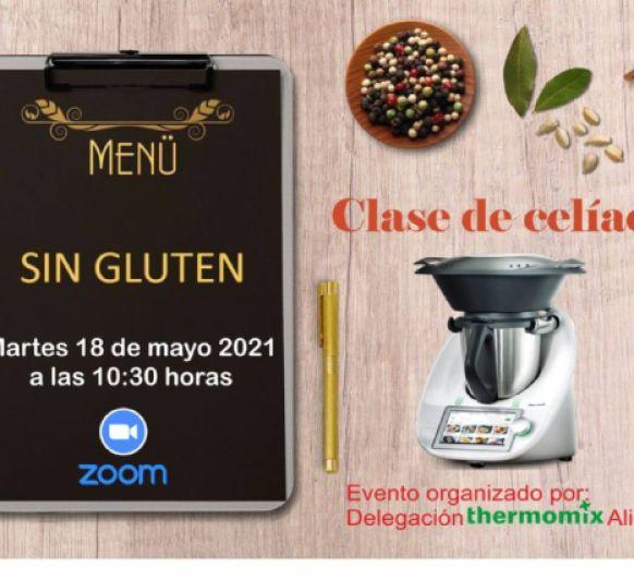 Clase de cocina Sin Gluten