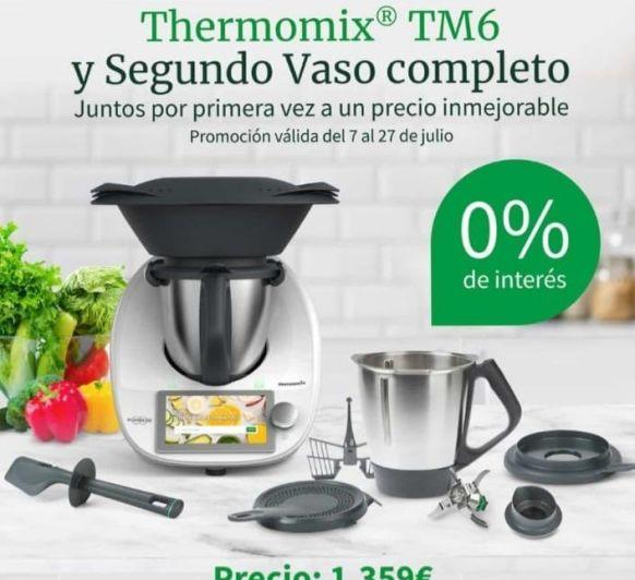 Thermomix® TM 6 SIN INTERESES Y CON SEGUNDO VASO