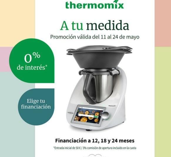 0% DE INTERÉS PARA TU Thermomix®