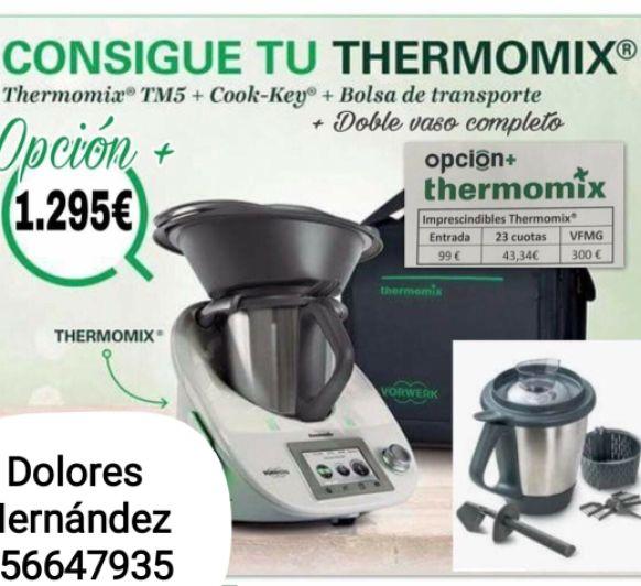 Thermomix® con doble vaso y bolsa