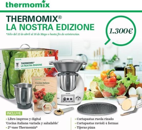 La Nostra Edicione, la nueva y esperada edición de Thermomix®