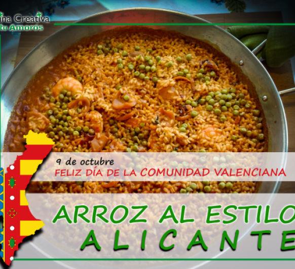 ARROZ AL ESTILO DE ALICANTE (Comunidad Valenciana)