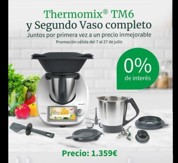 PRECIO INCREIBLE Thermomix® + 1 VASO COMPLETO