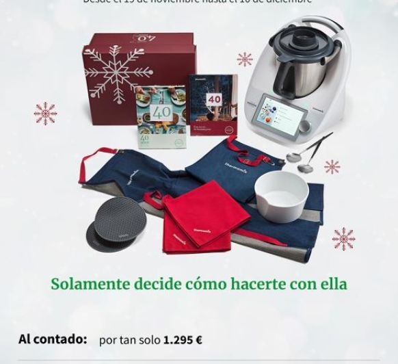 Thermomix® sin intereses.