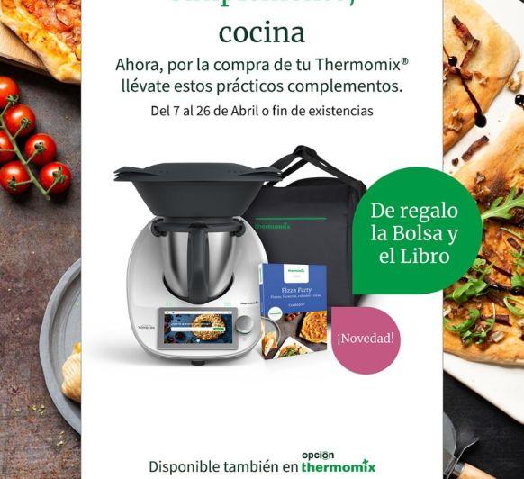Nueva promocion con bolsa de transporte y libro de Pizza party de regalo, solo por 31'48 euros al mes.