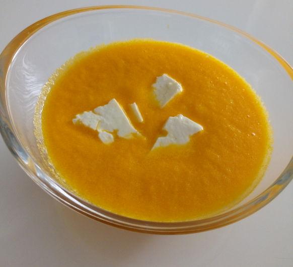 Gazpacho de zanahoria by Pepi Romans