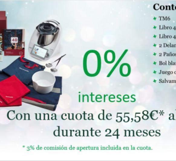 Thermomix® TM6 al 0% de Interes