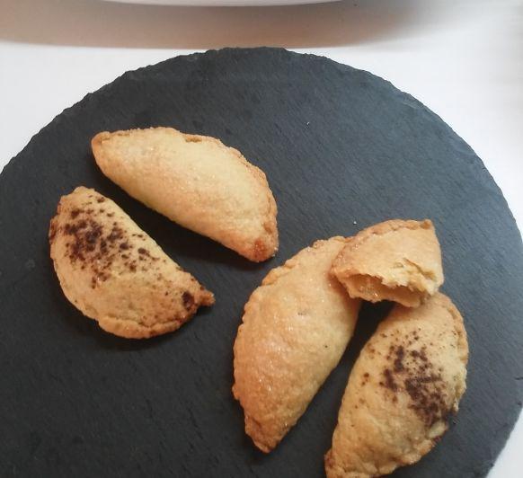 Pastizos de cabello de angel y de moniato