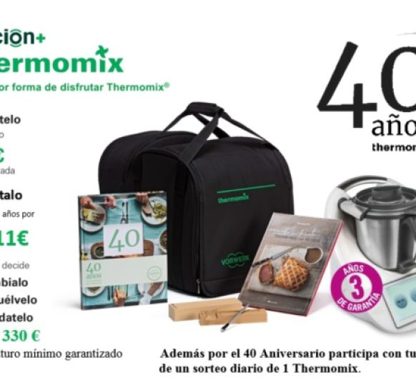 40 Aniversario de Thermomix®