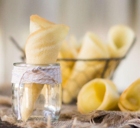 Cucuruchos o conos para helado