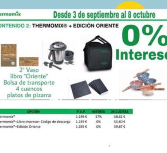 Thermomix® EDICIÓN ORIENTE SIN INTERESES