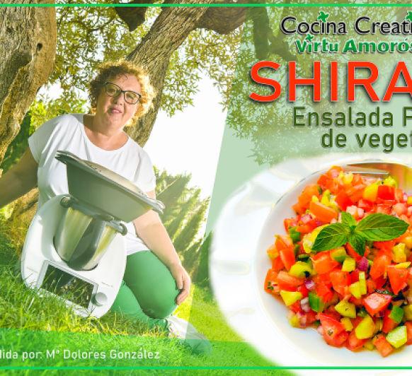 SHIRAZI ( Ensalada Persa con Vegetales)