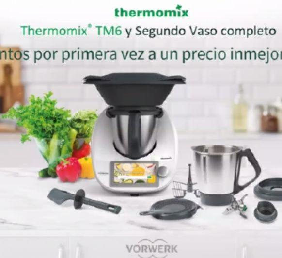 Thermomix® 0% INTERESES CON DOBLE VASO