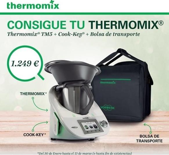 Nuevo thermomix tm5